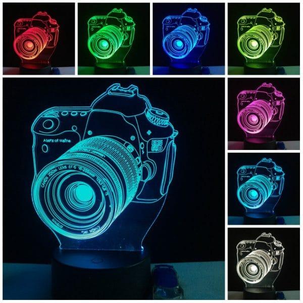 چراغ سه بعدی (طرح دوربین)