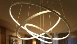 لوستر و آویز مدل سه حلقه